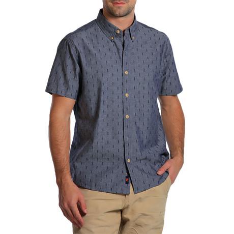 S/S Dobby Shirt // Atlantic Blue (S)