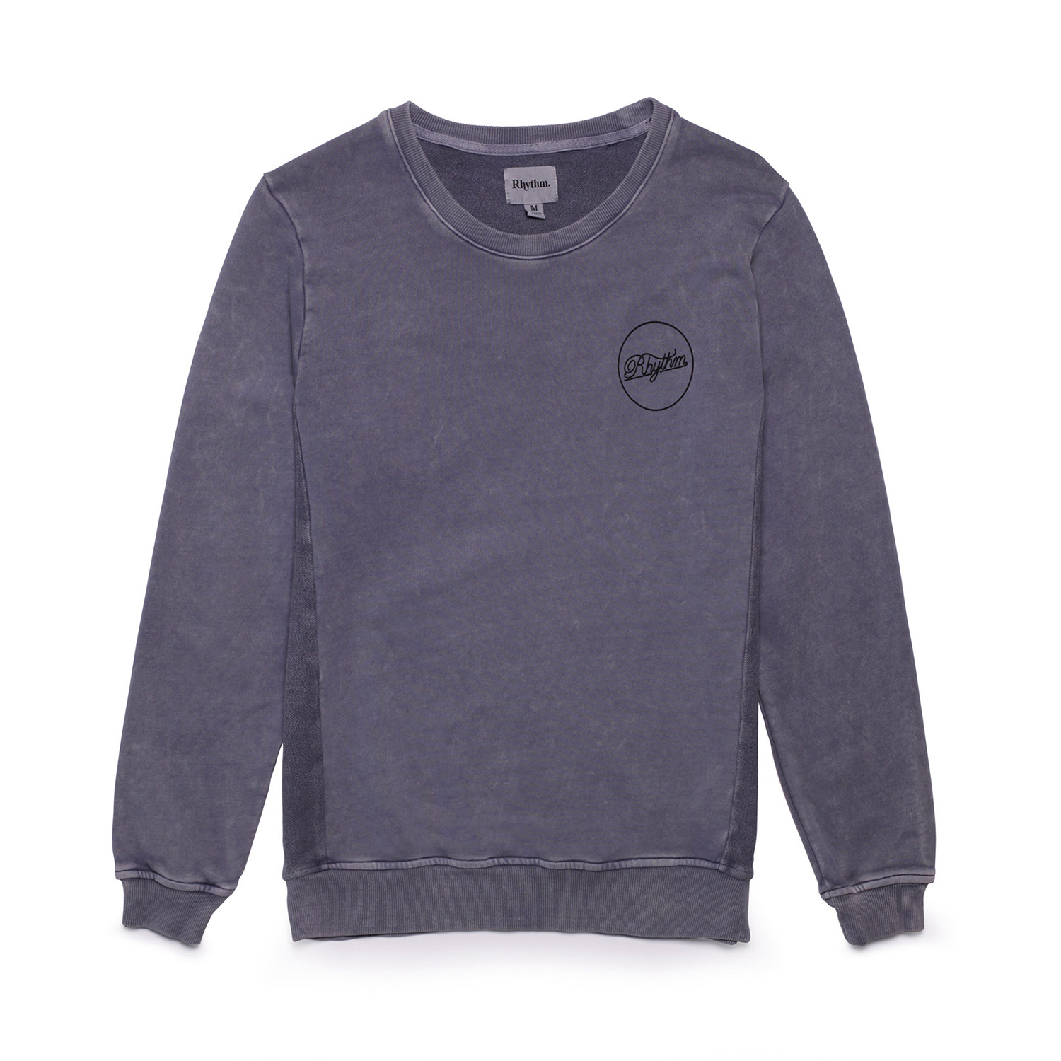 Washed Out Pullover Dusted Blue S Rhythm Clothing