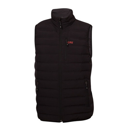 Cascade Down Vest // Anthracite (S)