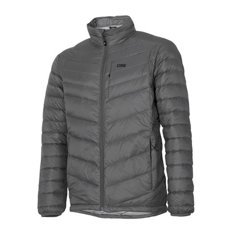 Cascade Down Jacket // Granite (S)