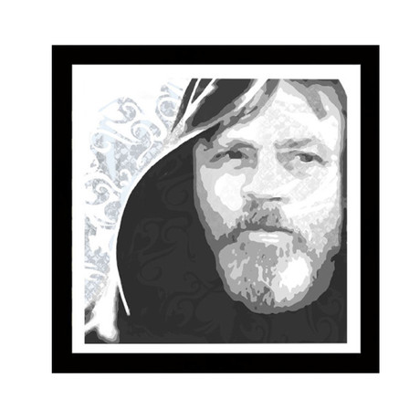"Luke (10""W x 10""H x 0.6""D)"