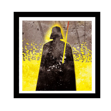 """The Force (10""""W x 10""""H x 0.6""""D)"""