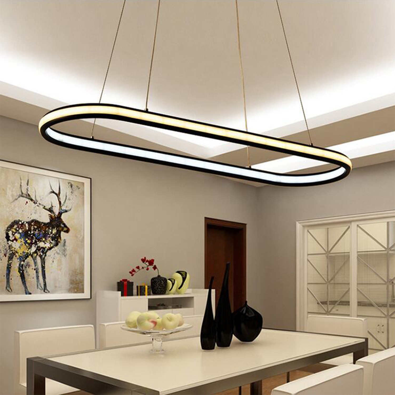 Oval // LED Pendant Light