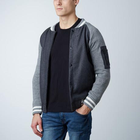 Varsity Jacket // Charcoal (S)