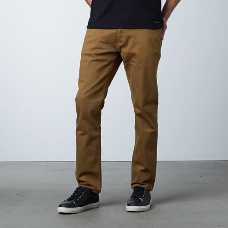 Garment Dyed 5-Pocket Jean // British Khaki (30WX30L)