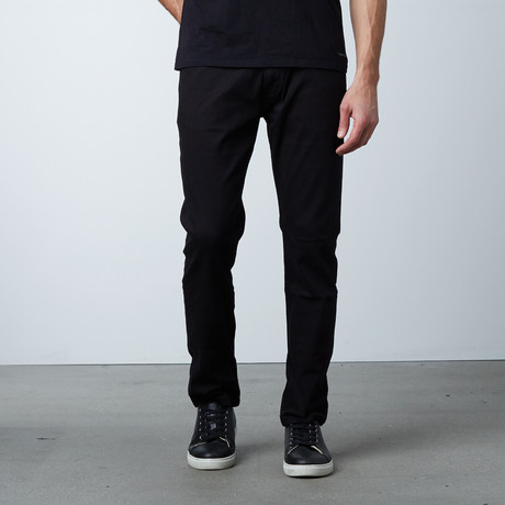 Garment Dyed 5-Pocket Jean // Black (30WX32L)