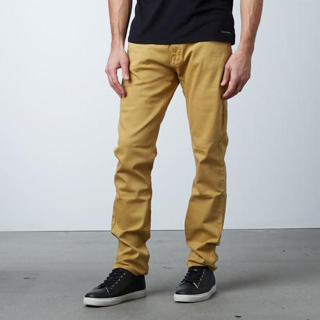 Garment Dyed 5-Pocket Jean // Mustard (30WX30L)