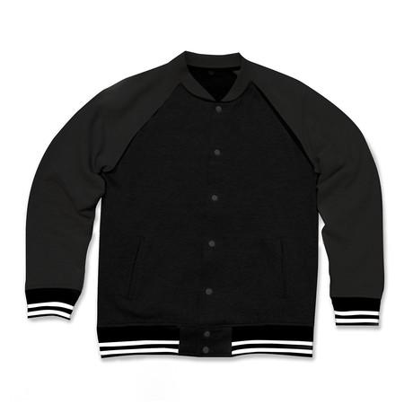 Varsity Jacket // Black (S)
