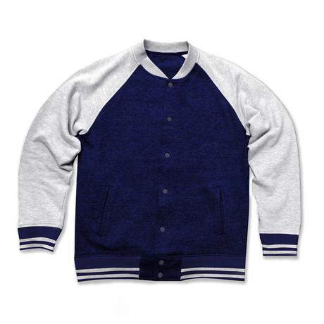 Varsity Jacket // Navy (S)