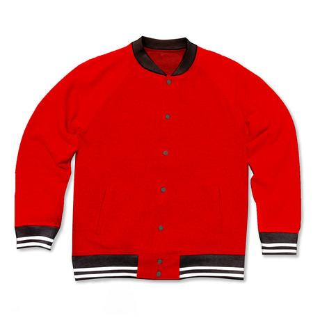 Varsity Jacket // Red (S)