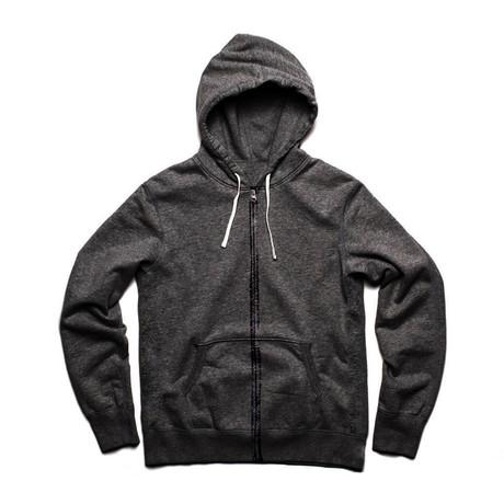 Zip Hoody // Charcoal (S)