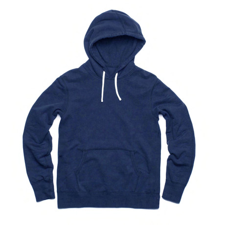 French Terry Pullover Hoody // Navy (S)