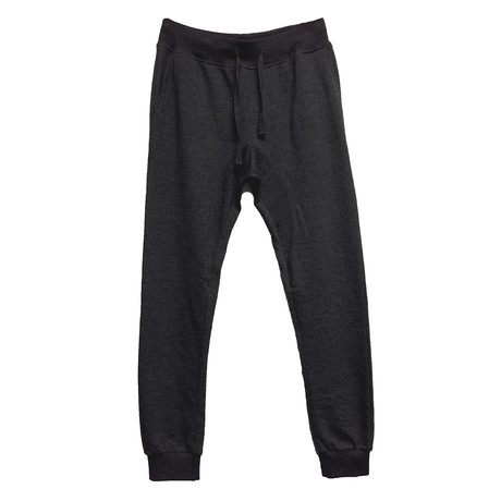 French Terry Pant // Black (S)