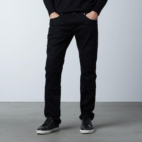 Rocker Jean // Black (30WX30L)