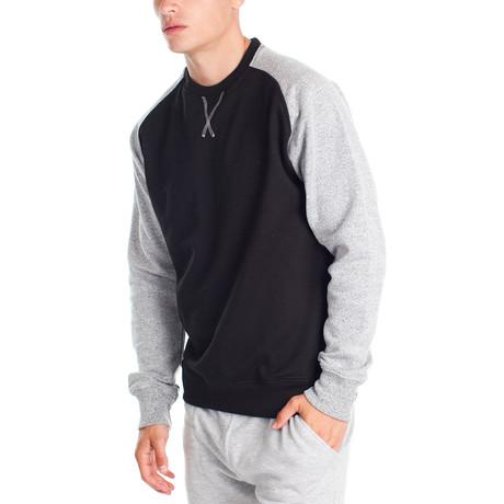 Contrast Pullover // Black (S)