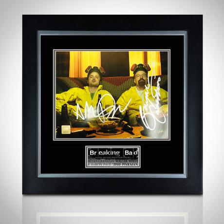 Breaking Bad // Hand-Signed Photo // Custom Frame