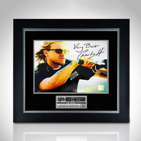 Sons Of Anarchy // Hand-Signed Photo // Custom Frame