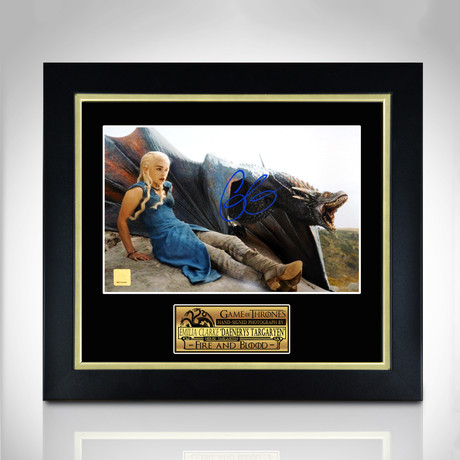Game Of Thrones // Hand-Signed Photo // Custom Frame 1