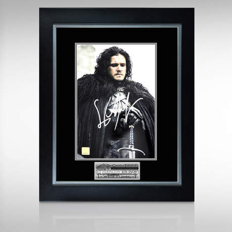 Game Of Thrones // Hand-Signed Photo // Custom Frame 2
