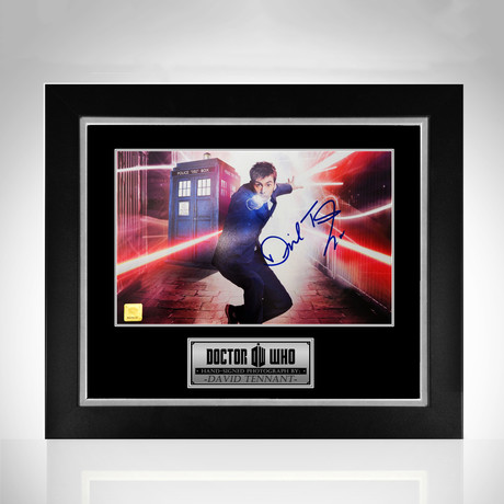 Dr. Who // Hand-Signed Photo // Custom Frame
