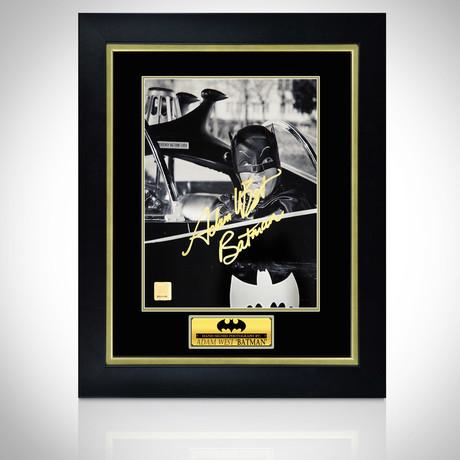 Batman // Hand-Signed Photo // Custom Frame