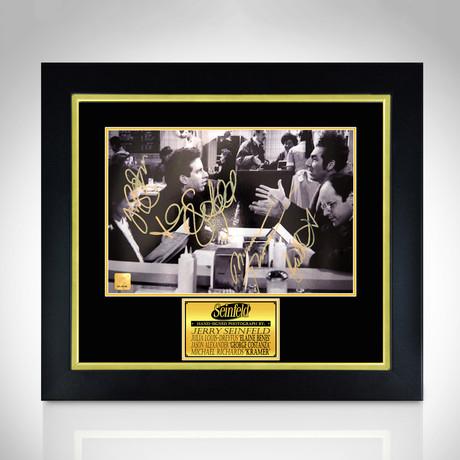 Seinfeld // Hand-Signed Photo // Custom Frame