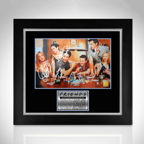 Friends // Hand-Signed Photo // Custom Frame