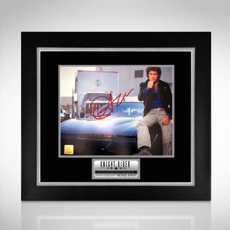 Knight Rider // Hand-Signed Photo // Custom Frame