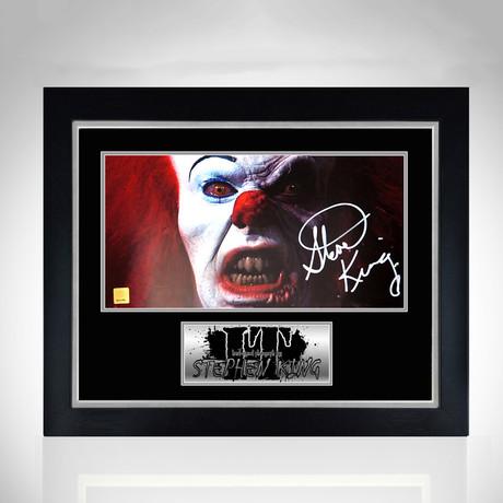 It // Hand-Signed Photo // Custom Frame