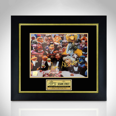 Muppet Show // Hand-Signed Photo // Custom Frame