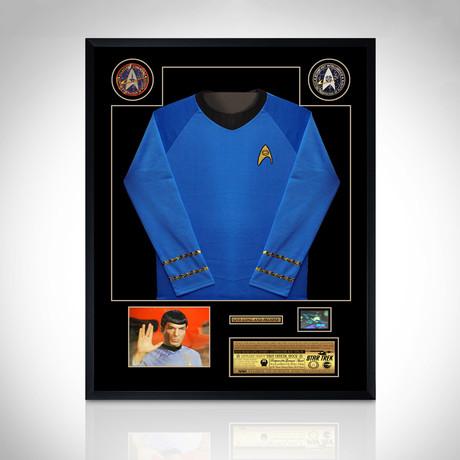 Star Trek // Hand Signed Photo + Jersey // Custom Frame