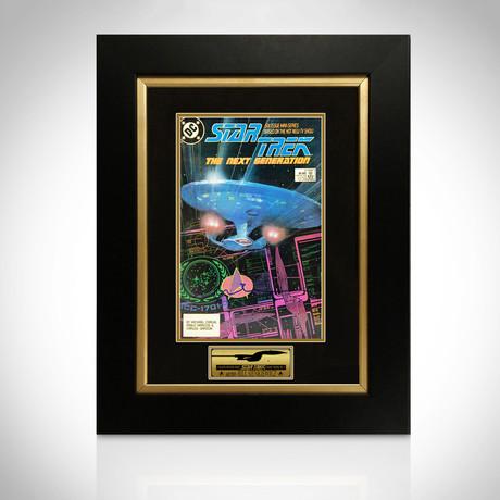 Star Trek 2 // Signed Comic Book // Custom Frame