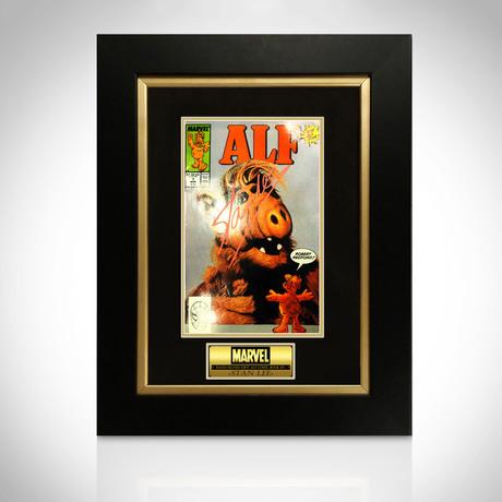 Stan Lee/Alf // Signed Comic Book // Custom Frame