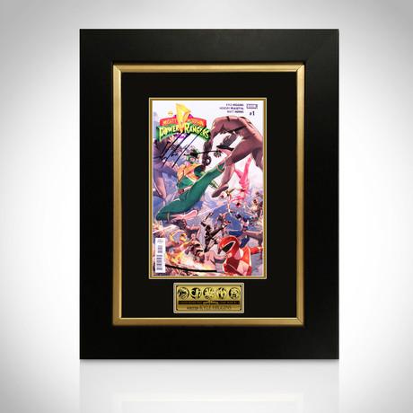 Power Rangers // Signed Comic Book // Custom Frame