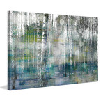 "Sunspotted Trunks Painting Print // Canvas (18""W x 12""H x 1.5""D)"