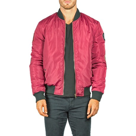Fly Jacket // Burgundy (XS)