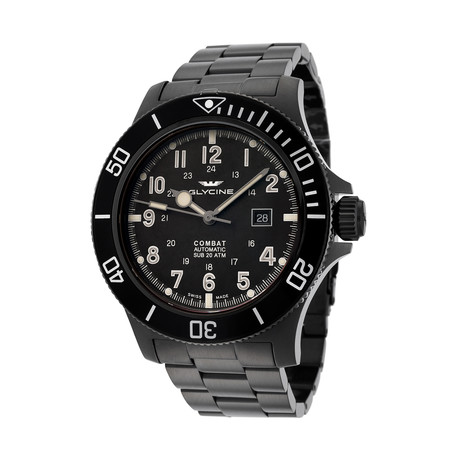 Glycine Combat Sub Automatic // 3951.959AT.N1.MB9