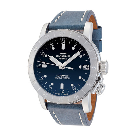Glycine Airman Purist 46 Automatic // 3953.181-66.LB8B