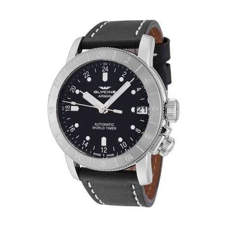 Glycine Airman Purist 46 Automatic // 3953.191-66.LB9B