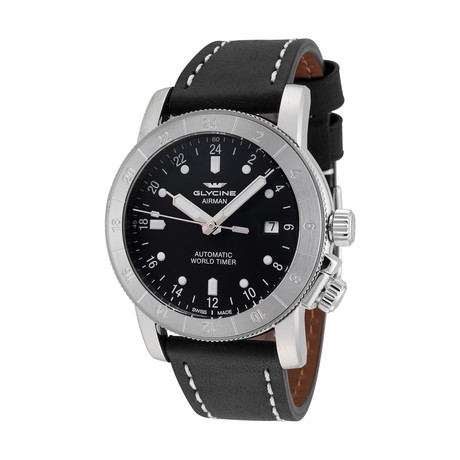Glycine Airman Purist 44 Automatic // 3954.191-66.LB9B
