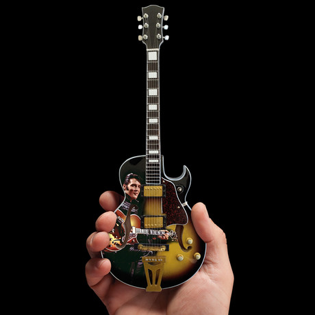 Elvis Mini Guitar Replicas // Set of 2