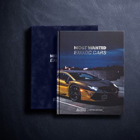 Most Wanted Exotic Cars // Signed Edition // Royal Blue