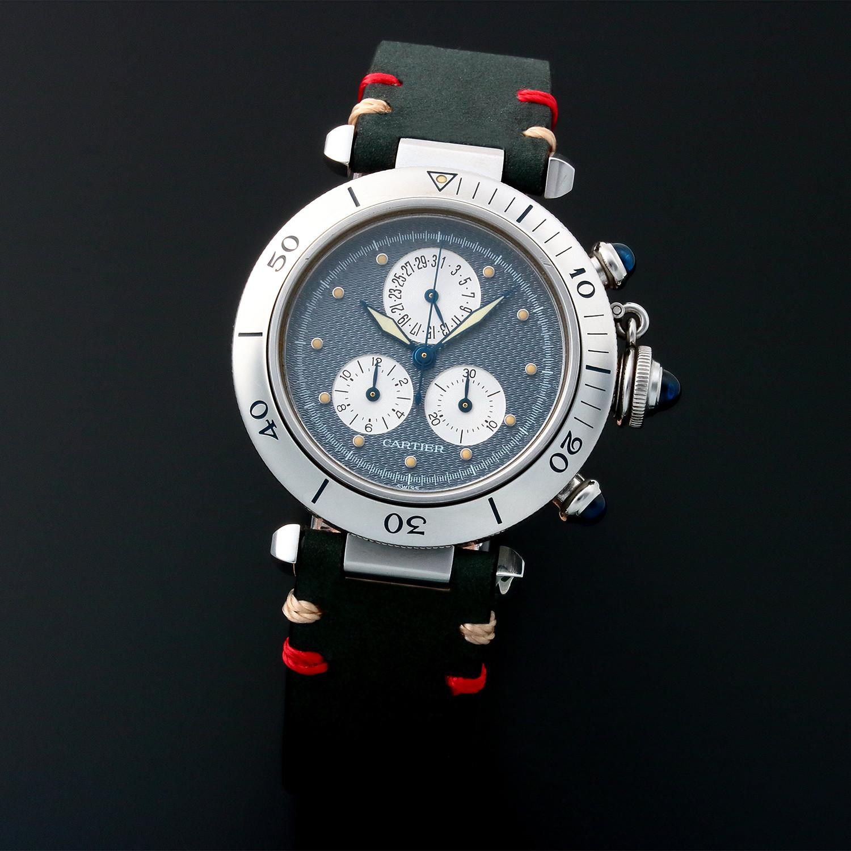 Cartier Pasha Chronograph Quartz 2550 Pre Owned