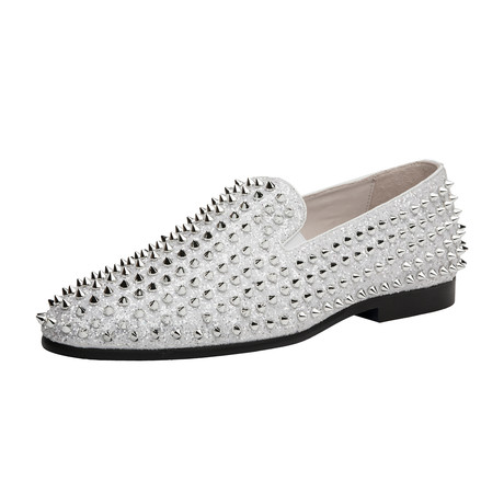 Luxor Shoe // White Silver (US: 8)