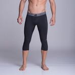 Capris Athletic Pants // Black (S)