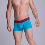 S1 Short Boxer // Green Blue (S)