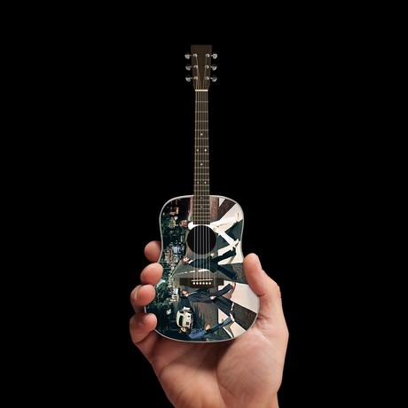 Abbey Road Tribute Mini Acoustic Guitar Replica
