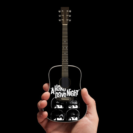 Fab Four Mini Guitar Replicas // Set of 4