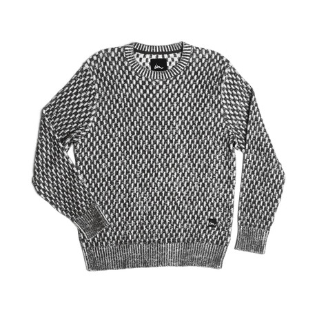 Lemming Sweater // Black + White (S)