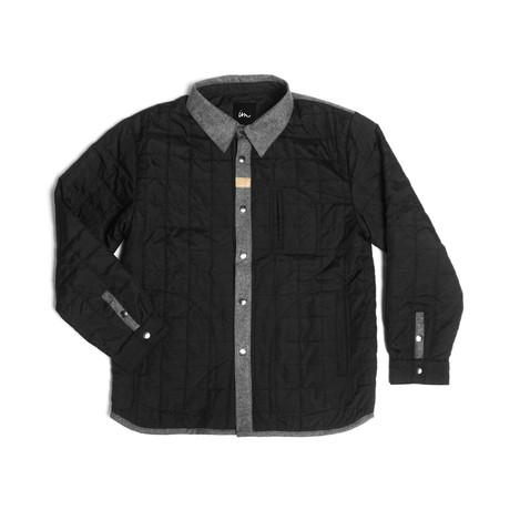 Trader Overshirt // Black (S)